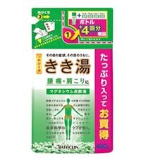 きき湯 詰替 497円(税抜)