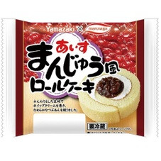 あいすまんじゅう風ロールケーキ 98円(税抜)
