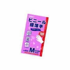 ビニール極薄手 S・M・L 597円(税抜)