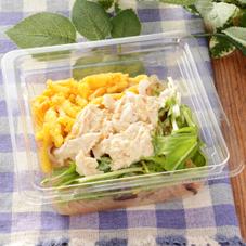 蒸し鶏と水菜の春雨サラダ 298円