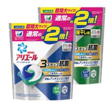 アリエールジェルボール3D詰替特大 各種 577円(税抜)