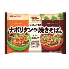 マ・マーお弁当スパゲッティ ナポリタン&焼そば風 157円(税抜)