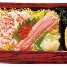 【夕市】かにを味わうちらし寿司 488円(税抜)
