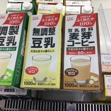 国産大豆使用豆乳.無調整豆乳.麦芽コーヒー 198円(税抜)