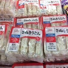 冷凍さぬきうどん 198円(税抜)