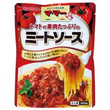 マ・マー トマトの果肉たっぷりのミートソース 99円(税抜)