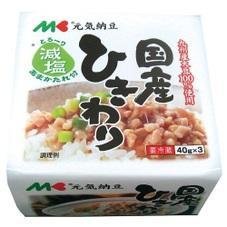 元気納豆 国産ひきわり 98円(税抜)