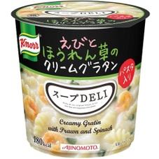 クノール スープDELI えびとほうれん草のクリームグラタン 108円(税抜)