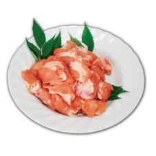 鶏トロ(肩肉)唐揚げ・お鍋用(解凍) 500円(税抜)