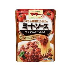 ママートマトの果肉たっぷりのミートソースマッシュルーム入り 99円(税抜)
