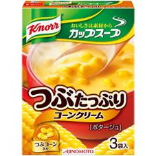 クノールカップスープ つぶたっぷりのコーンクリーム 99円(税抜)
