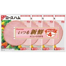 丸大いつも新鮮ロースハム4連 278円(税抜)
