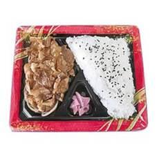 ガリバタ豚焼肉弁当 378円