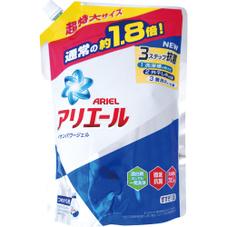 アリエールイオンパワージェル 特大詰替 各種 328円(税抜)