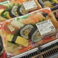 にぎり寿司(サラダ太巻入り) 698円(税抜)