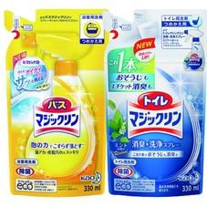 バスマジックリン・トイレマジックリン詰替 85円(税抜)