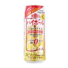 ハイボール(500ml) 137円(税抜)