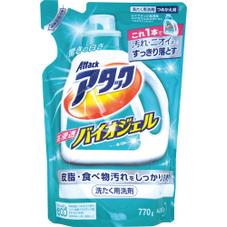 アタック高浸透バイオジェル 詰替 158円(税抜)