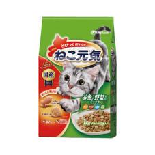 ねこ元気 お魚と野菜ミックス 340円(税抜)