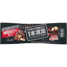 1本満足バー シリアルブラック 糖類80%オフ 108円(税抜)