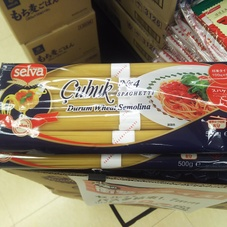 SELVA スパゲッティ 結束タイプ 500g 159円(税抜)