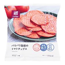 パリパリ食感のトマトチップス 148円