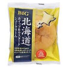 北海道ホイップ&カスタードシュー 66円(税抜)