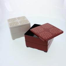 角型お重ニ段 300円(税抜)