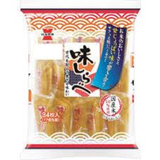 味しらべ・岩塚の黒豆せんべい 100円(税抜)