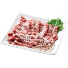 豚肉カタ切り落とし 88円(税抜)