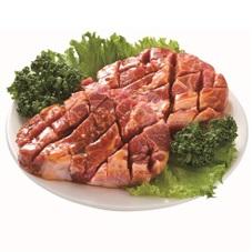 豚肉かたロース切れてるトンテキ用味付 78円(税抜)