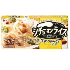シチューオンライス チキンフリカッセ風 185円(税抜)