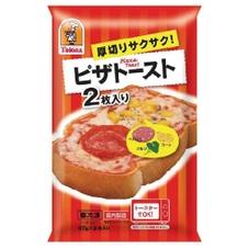 厚切りサクサク ピザトースト2枚入 158円(税抜)