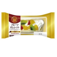 フルーツオムレット 128円(税抜)
