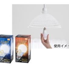 LED電球 60W 各種 398円(税抜)