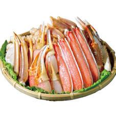 生ずわいがにかにすきセット(冷凍) 1,898円(税抜)