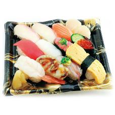 【寿司】おすすめにぎり 潮音(活〆カンパチ入り 12貫) ※写真はイメージです。 650円(税抜)