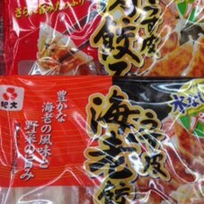 肉餃子・海老餃子 128円(税抜)
