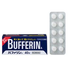 バファリンA 40錠 458円(税抜)