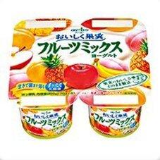 おいしく果実 フルーツミックスヨーグルト 115円(税抜)
