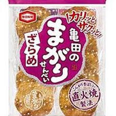 亀田のまがりせんべいざらめ 108円(税抜)