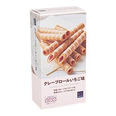 クレープロールいちご味 20本 108円