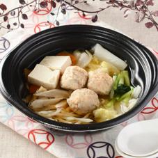 9品目の鶏団子鍋 430円