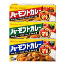 バーモントカレー(甘口・中辛・辛口) 127円(税抜)