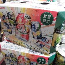 氷結バラエティパック 580円(税抜)