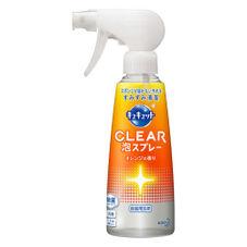 キュキュットCLEAR泡スプレー 本体 258円(税抜)