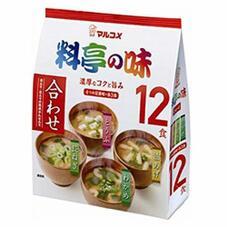 お徳用料亭の味みそ汁 12食 138円(税抜)
