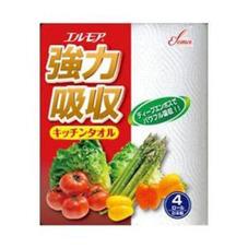 エルモア強力吸収4Rタオル 127円(税抜)