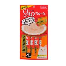 ちゅーる4本組 各種 137円(税抜)