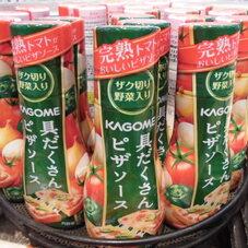 具だくさんピザソース 198円(税抜)